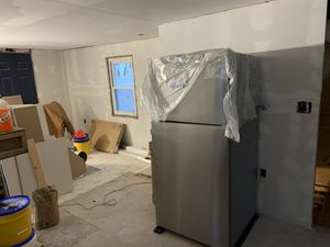 NEW Whirlpool Stainless Refridgerator (Fridge) - couple Dents for Sale in Lawrence, MA