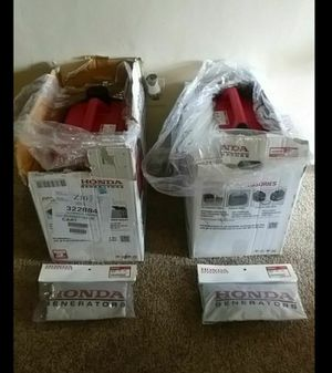 Honda generators EU2000i New also comes with cover $1800 for BOTH for Sale in Tucson, AZ