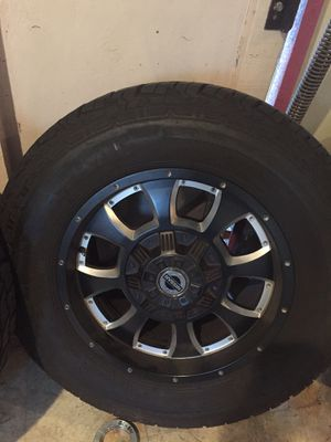 4 all terrain tires and rims for Sale in Lake Elsinore, CA