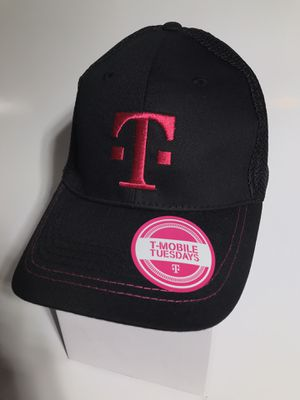 Black & Pink T-Mobile Baseball Cap/Hat - Mesh/Cotton for Sale in Wylie, TX
