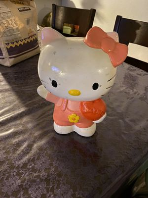Hello kitty piggy banks for Sale in Santa Ana, CA
