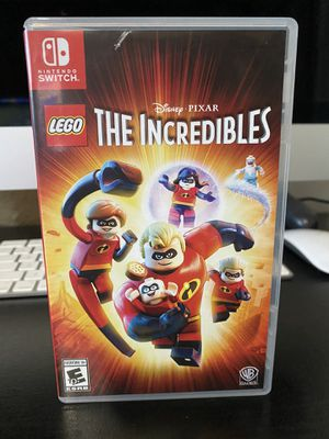 LEGO The incredibles for Nintendo switch for Sale in Riverside, CA
