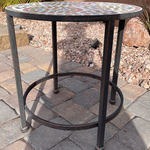 Mosaic Outdoor Sidetable for Sale in Las Vegas, NV