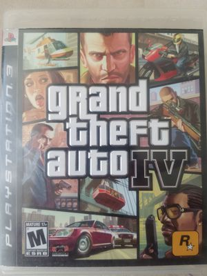 GTA 4 for PS3 for Sale in Baltimore, MD