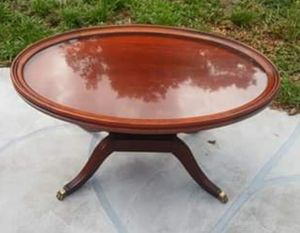 1 gorgeous vintage harp table for Sale in Longwood, FL