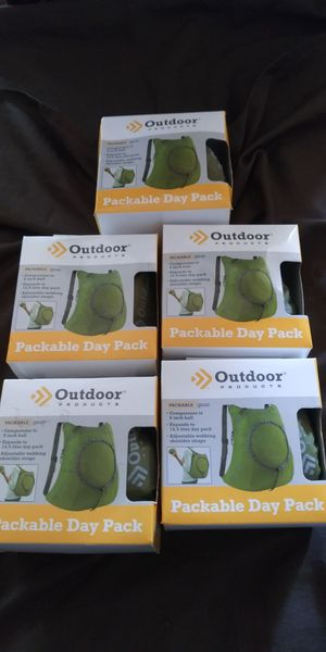 NEW PACKABLE DAY PACK BACKPACKS for Sale in Los Angeles, CA