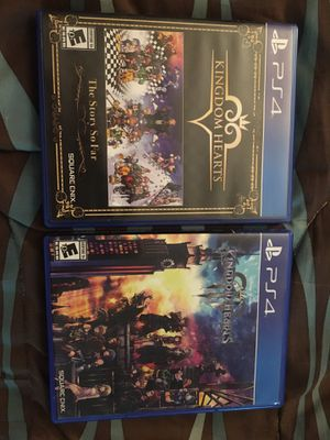 Kingdom Hearts The Story So Far, and Kingdom Hearts 3. for Sale in Las Vegas, NV