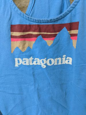Blue Patagonia racerback tank, women's medium for Sale in Campbell, CA