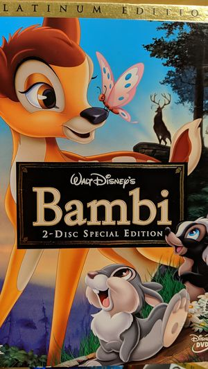 Bambi platinum edition DVD for Sale in Ontario, CA