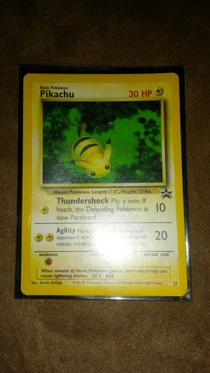 Pikachu pokemon card for Sale in Ontario, CA