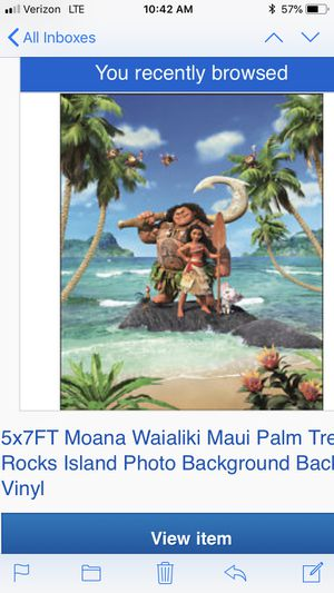 Moana party back drop, 5ft x 7ft for Sale in Lake Worth, FL