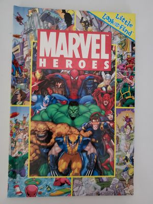 Kids Book- Marvel Search and Find Hardcover for Sale in Vancouver, WA