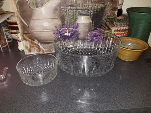 Arcoroc crystal bowls for Sale in Pine Bluff, AR