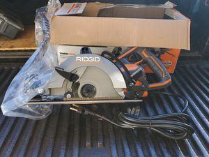 Ridgid circular saw for Sale in Modesto, CA