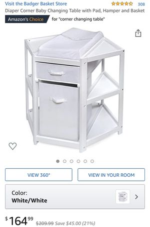 """New in box"" diaper changing table for Sale in Irving, TX"