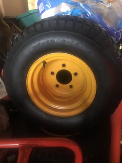 Set of 4 Agricultural tractor Deestone D265-Turf 26x12.00 tires/wheels for Sale in Chicago,  IL