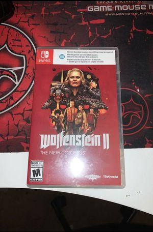 Wolfenstein ll Nintendo Switch for Sale in Fremont, CA