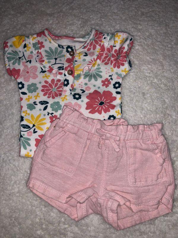 Baby short set