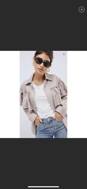 ASOS DESIGN frill jacket for Sale in Woodbridge, VA