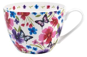 Butterfly Bone China Mugs Tea Cups, Set of 2 for Sale in Prospect, KY