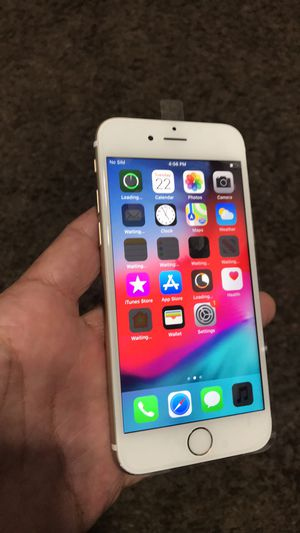 iPhone 6s 64 gb factory unlocked T-Mobile metro cricket international for Sale in Las Vegas, NV