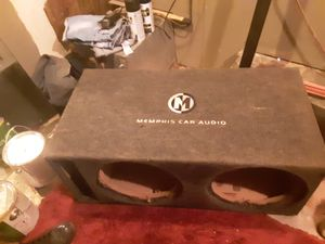Memphis 12in sub box for Sale in Coolidge, AZ