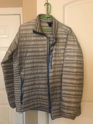 Men's Patagonia ultra light down sweater/ sizeL for Sale in Salt Lake City, UT