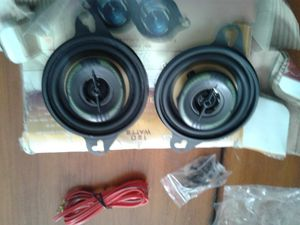 120 watts 3 1/2 two way car stereo speaker system for Sale in St. Louis, MO
