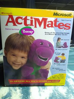 Brand new Microsoft Barney interactive for Sale in Cincinnati,  OH
