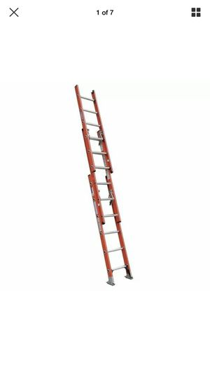 WERNER D6220-3 Extension Ladder, Fiberglass, 20 ft. , Type IA for Sale in Renton, WA