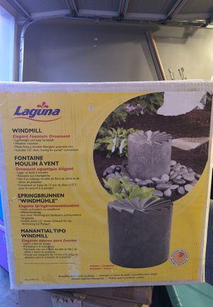 Laguna windmill fountain ornament brand new for Sale in Smyrna, TN
