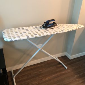Steam Iron With Ironing Board for Sale in Chicago, IL