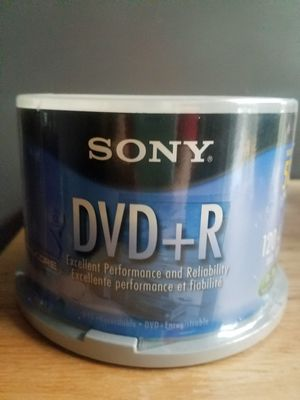 Sony dvd+r 50 pack for Sale in Cleveland, OH