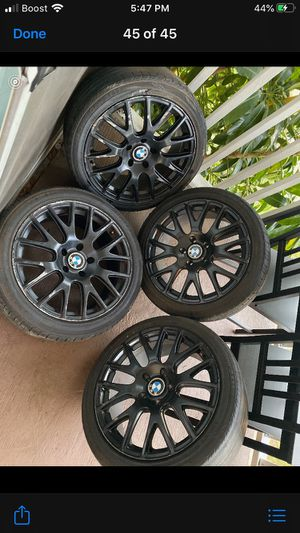 335i 3-series-blacked out -honeycomb with low profile tire price is negotiable for Sale in Orlando, FL