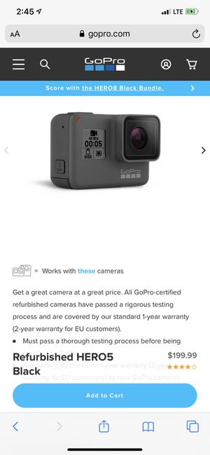 GoPro Hero 5 for Sale in San Antonio, TX