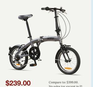 Sunshine fold up bike - Grey for Sale in Henderson, NV