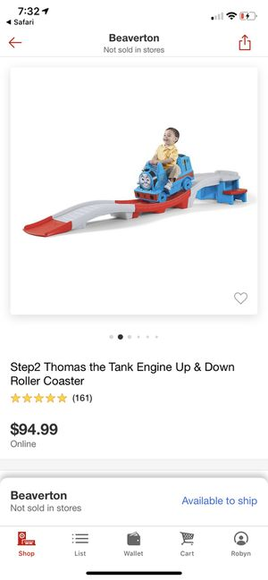 Step 2 Thomas the Tank Engine Up & Down Roller Coaster for Sale in OR, US