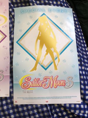 Sailor Moon Movie Mini posters for Sale in San Diego, CA