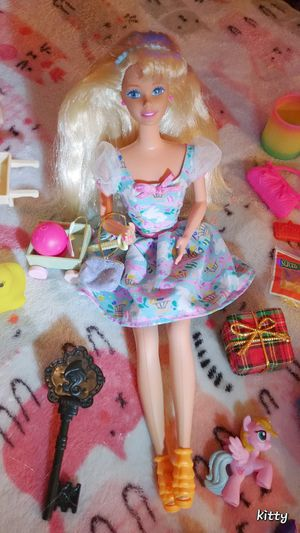 Easter Barbie And MLP Equestria Girls Dolls With Extra Accessories for Sale in Chicago, IL