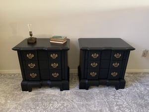 Nightstands bedside tables end tables side tables chest of drawers bedroom for Sale in Sunrise, FL