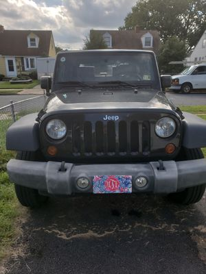 2010 Jeep Wrangler 83k miles for Sale in Dundalk, MD