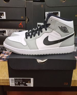 Jordan 1 Mid Smoked Grey Size 12 for Sale in Fairfax, VA