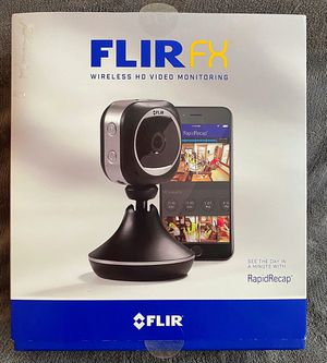 FLIR HD Home security camera with wireless WiFi monitoring FXV101-H for Sale in Pinellas Park, FL