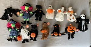 Halloween Beanie Baby Lot. Retired. All New With Tags for Sale in Yorba Linda, CA