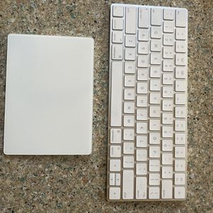 Apple Magic Wireless Keyboard and Wireless Mouse Trackpad for Sale in Gambrills, MD