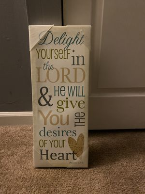 Psalm canvas for Sale in Beltsville, MD