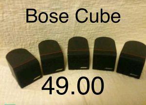 Bose Cube Speakers. (5) for Sale in Glen Burnie, MD