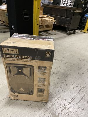 Brand New Eurolive B212D Speakers for Sale in Dearborn, MI