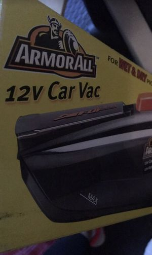 12v Car vac in good condition used a few times has all parts. for Sale in Pasadena, TX
