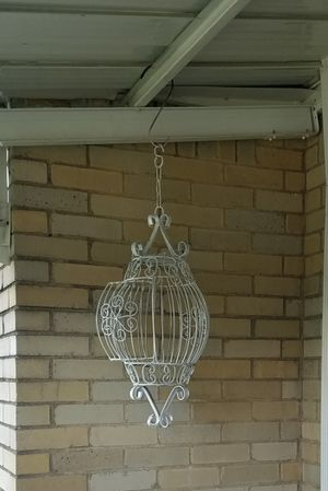Decorative hanging bird cage for Sale in Pittsburgh, PA